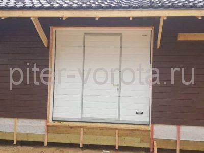 Гаражные подъёмно-секционные ворота Doorhan RSD02 в Лебяжье, фото 1