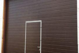 мно-секционные ворота DoorHan RSD02 в Мурино, фото 3
