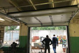 Гаражные подъёмно-секционные ворота Doorhan RSD02 в Полюстровском, фото 2