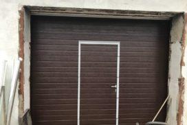 Гаражные подъёмно-секционные ворота Doorhan RSD02 в Полюстровском, фото 3