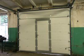 Гаражные подъёмно-секционные ворота Doorhan RSD02 в Полюстровском, фото 4