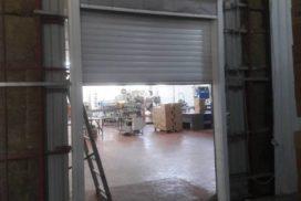 Роллетные ворота DoorHan с противопожарной шторой в Потанино, фото 2