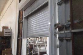 Роллетные ворота DoorHan с противопожарной шторой в Потанино, фото 3