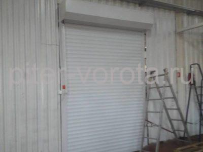 Роллетные ворота DoorHan с противопожарной шторой в Потанино, фото 1