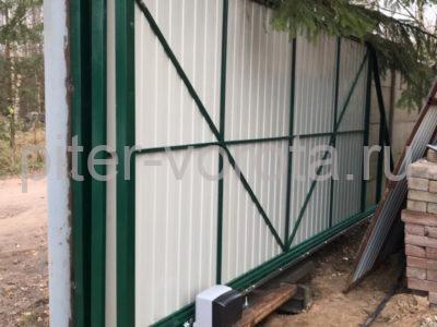 Уличные откатные ворота Doorhan в Ковалёво, фото 1