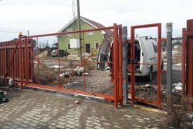 Уличные откатные ворота Doorhan в Ленинградской области, фото 6