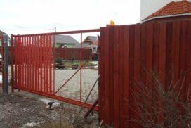 Уличные откатные ворота Doorhan в Ленинградской области, фото 8