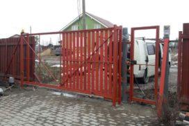 Уличные откатные ворота Doorhan в Ленинградской области, фото 9