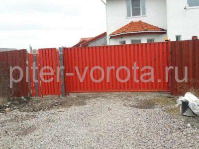 Уличные откатные ворота Doorhan в Ленинградской области, фото 1