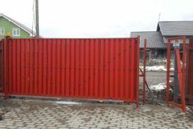 Уличные откатные ворота Doorhan в Ленинградской области, фото 2