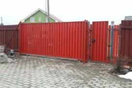 Уличные откатные ворота Doorhan в Ленинградской области, фото 3