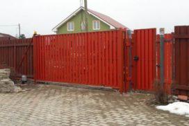 Уличные откатные ворота Doorhan в Ленинградской области, фото 5