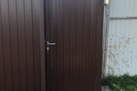 Уличные откатные ворота Doorhan в Синявино, фото 2