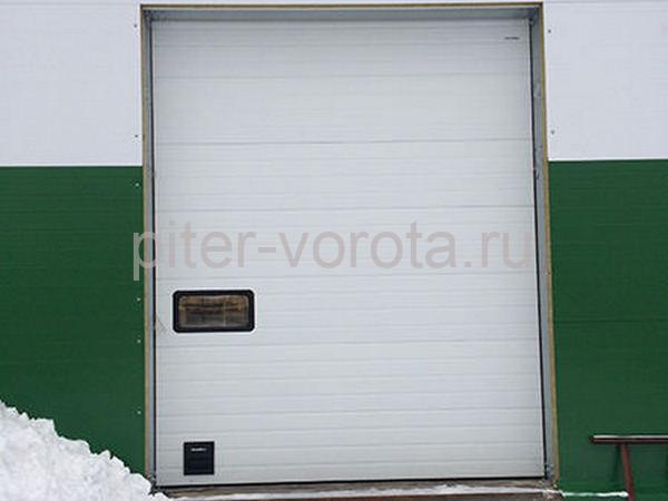 Гаражные подъёмно-секционные ворота на ул. Химиков