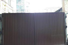 Уличные распашные ворота Doorhan на Гагарина в СПБ, фото 4