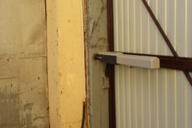 Уличные распашные ворота Doorhan на Гагарина в СПБ, фото 7