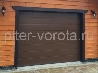 Секционные ворота Hormann 5000 × 2125 мм, автоматический привод ProMatic