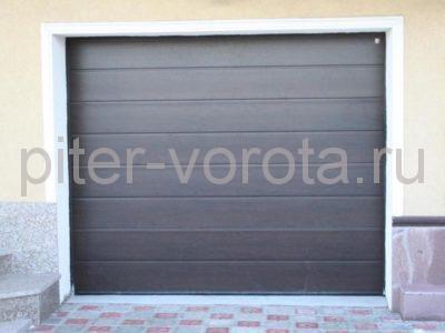 Секционные ворота Hormann 5000 × 2250 мм, ручное управление