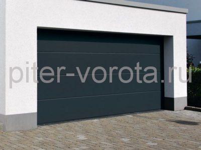 Секционные ворота Hormann 2500 × 2500 мм, автоматический привод Prolift