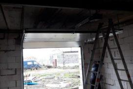 Гаражные подъёмно-секционные ворота Hormann RenoMatic в Аннино, фото 4