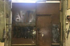 Промышленные подъёмно-секционные ворота DoorHan ISD01 2845х3050, фото 4