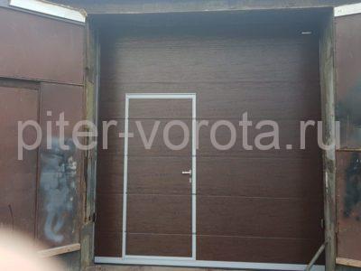 Промышленные подъёмно-секционные ворота DoorHan ISD01 2845х3050, фото 1