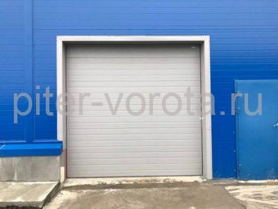 Четыре комплекта промышленных подъёмно-секционные ворот DoorHan ISD01 и гаражных RSD02 в Мурино, фото 1