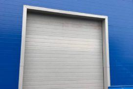 Четыре комплекта промышленных подъёмно-секционные ворот DoorHan ISD01 и гаражных RSD02 в Мурино, фото 10