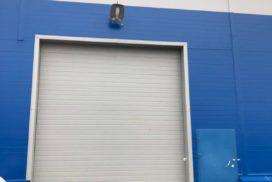 Четыре комплекта промышленных подъёмно-секционные ворот DoorHan ISD01 и гаражных RSD02 в Мурино, фото 11