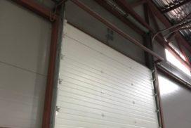 Четыре комплекта промышленных подъёмно-секционные ворот DoorHan ISD01 и гаражных RSD02 в Мурино, фото 15