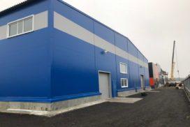 Четыре комплекта промышленных подъёмно-секционные ворот DoorHan ISD01 и гаражных RSD02 в Мурино, фото 5