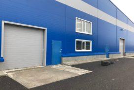 Четыре комплекта промышленных подъёмно-секционные ворот DoorHan ISD01 и гаражных RSD02 в Мурино, фото 7