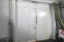 Промышленные подъёмно-секционные ворота DoorHan ISD01 на Мебельной, фото 8