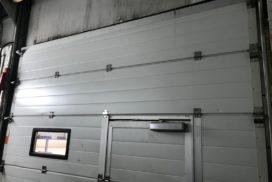 Промышленные подъёмно-секционные ворота DoorHan ISD01 на Мебельной, фото 5