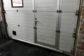 Промышленные подъёмно-секционные ворота DoorHan ISD01 на Мебельной, фото 6