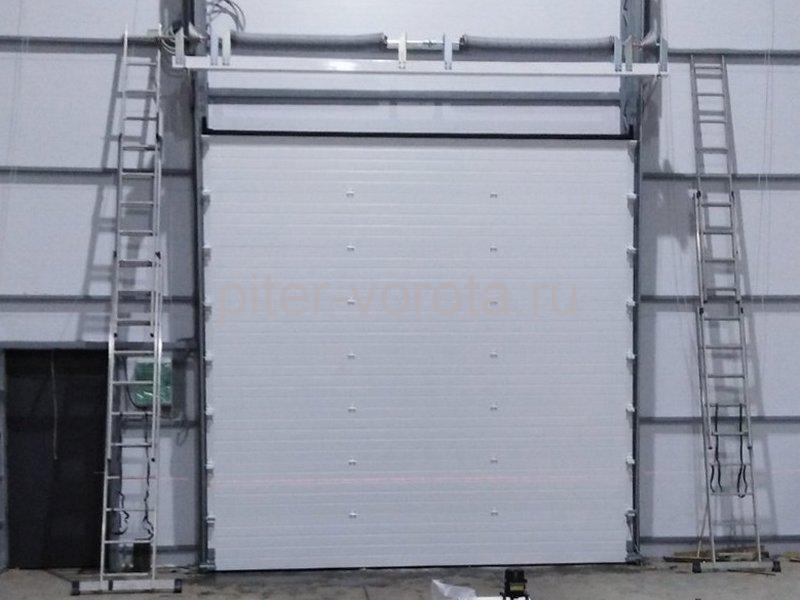 Ворота промышленные подъёмно-секционные DoorHan ISD01 в г.Отрадное