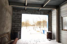 Промышленные подъёмно-секционные ворота DoorHan ISD01 в Киришах, фото 4