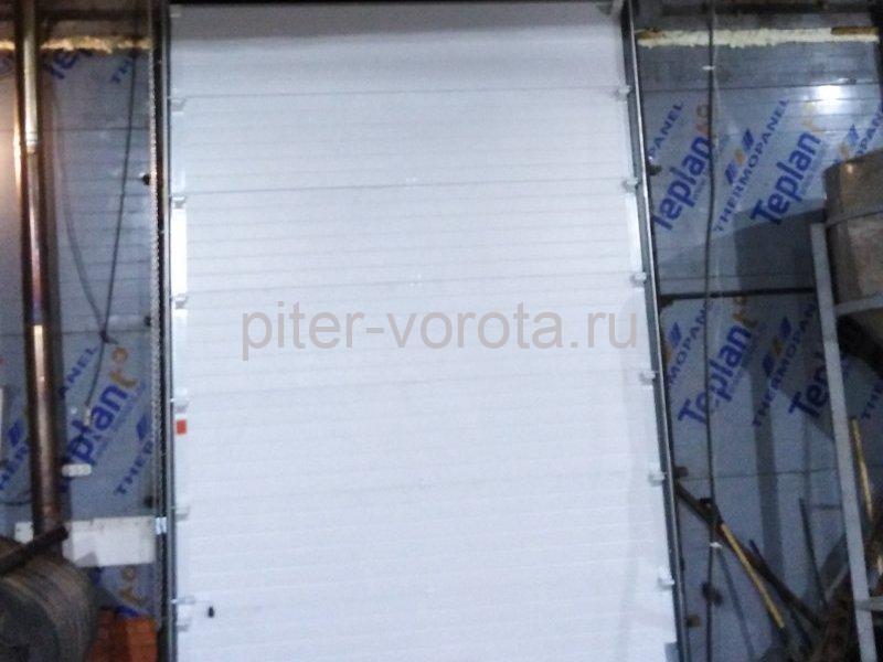 Ворота промышленные подъёмно-секционные DoorHan ISD01 в пос.Лесное