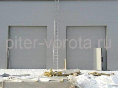 Промышленные подъёмно-секционные ворота DoorHan ISD01 в Шушарах, фото 1