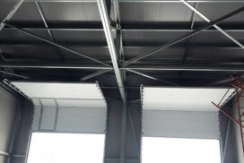 Промышленные подъёмно-секционные ворота DoorHan ISD01 в Шушарах, фото 6