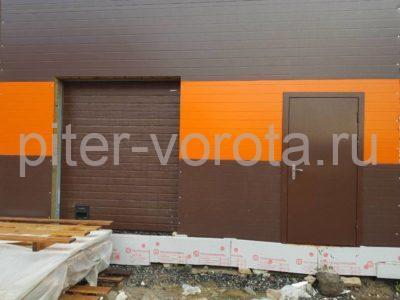 Комплект ворот и роллет на Волохонском шоссе, фото 1