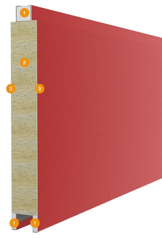 Особенности конструкции панели ворот