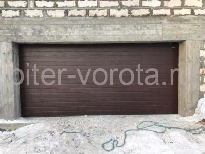 Гаражные подъёмно-секционные ворота DoorHan RSD02 в Маслово, фото 1