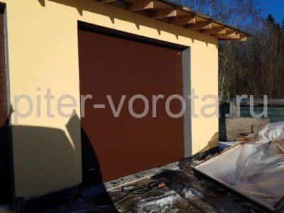 Гаражные подъёмно-секционные ворота DoorHan RSD02 на Гостилицком шоссе, фото 1