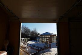 Гаражные подъёмно-секционные ворота DoorHan RSD02 на Гостилицком шоссе, фото 8