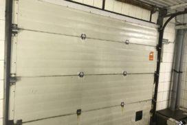 Промышленные подъёмно-секционные ворота Alutech серии Protrend на В.О., фото 6