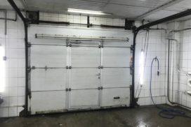 Промышленные подъёмно-секционные ворота Alutech серии Protrend на В.О., фото 7