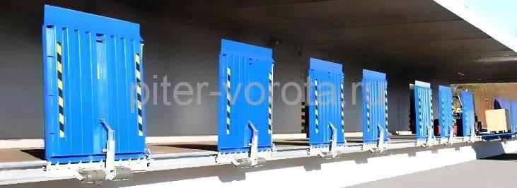 Перегрузочный мост для склада