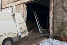 Промышленные подъёмно-секционные ворота DoorHan ISD01 в п.Рощино, фото 8