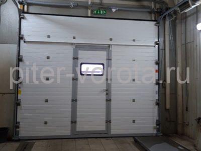 Гаражные подъёмно-секционные ворота DoorHan RSD02 в п.Шушары, фото 1
